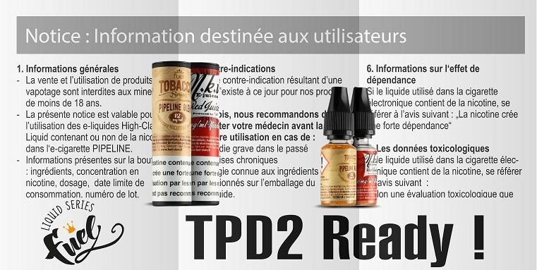 Eliquides FUEL TPD2