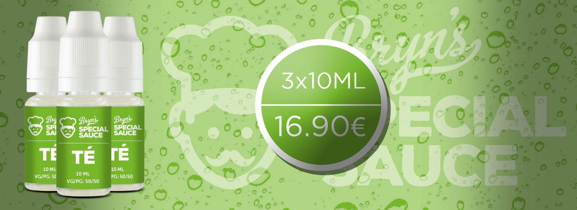 L'e-liquide phare de la gamme Bryn's Special Sauce, le Té